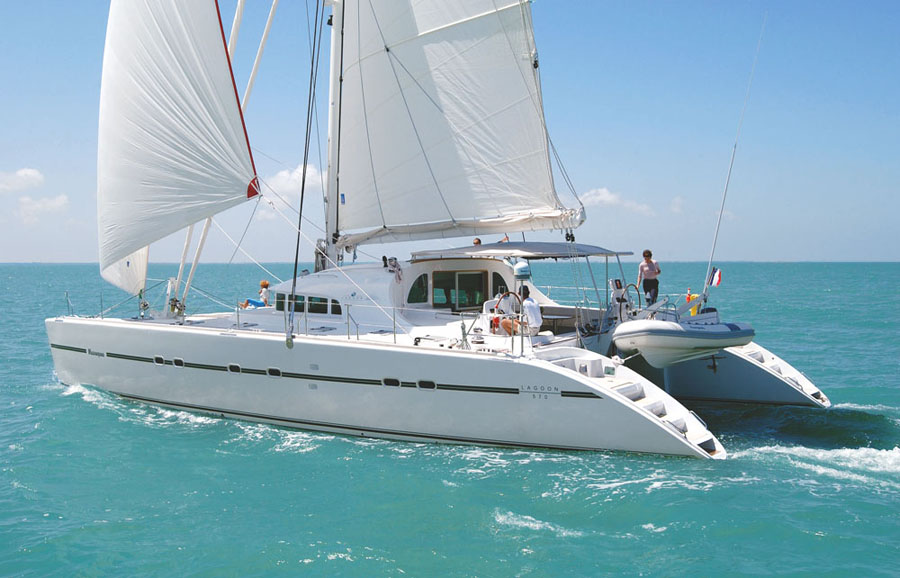... Catamaran Lagoon 57 ft ...